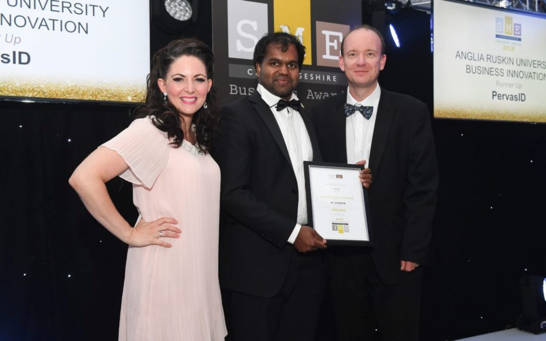 PERVASID RECOGNISED AS RUNNER-UP IN THE SME BUSINESS AWARDS